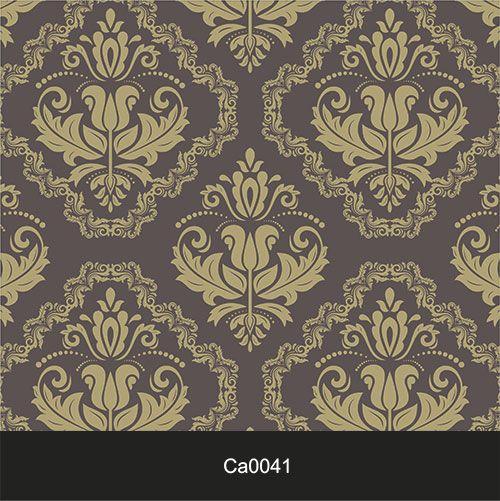 Papel de Parede Lavável Clássico Arabesco ca0041 Dourado  - Final Decor
