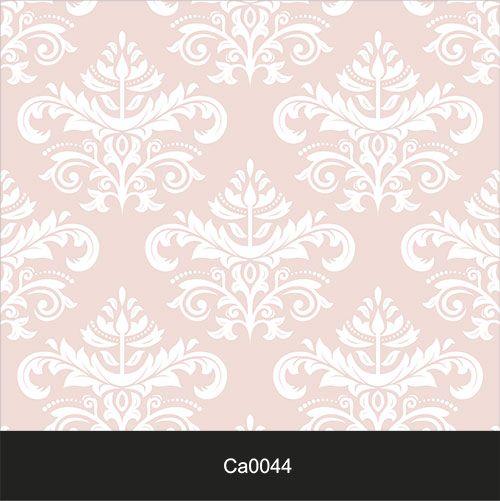 Papel de Parede Lavável Clássico Arabesco Rosa CA0044  - Final Decor