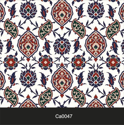 Papel de Parede Lavável Clássico Arabesco Mosaico CA0047  - Final Decor