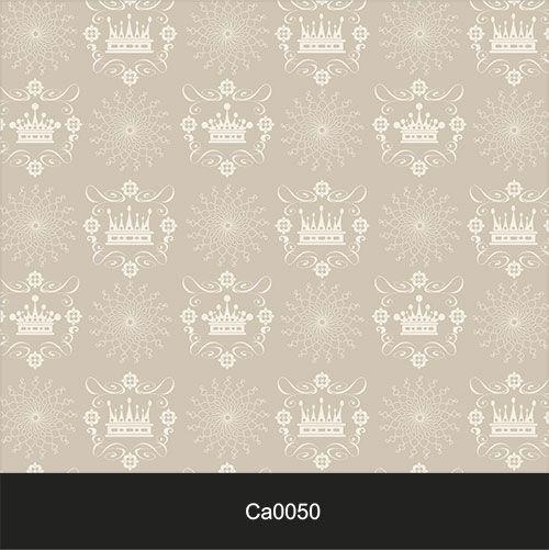 Papel de Parede Lavável Clássico Arabesco ca0050 Coroa  - Final Decor