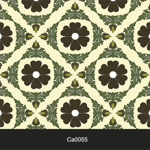 Papel de Parede Lavável Clássico Arabesco Triabal Florido CA0055   - Final Decor