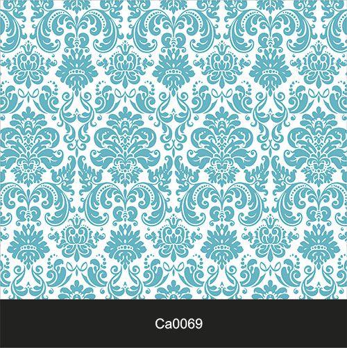 Papel de Parede Lavável Clássico Arabesco ca0069 Imperio Azul bebe  - Final Decor
