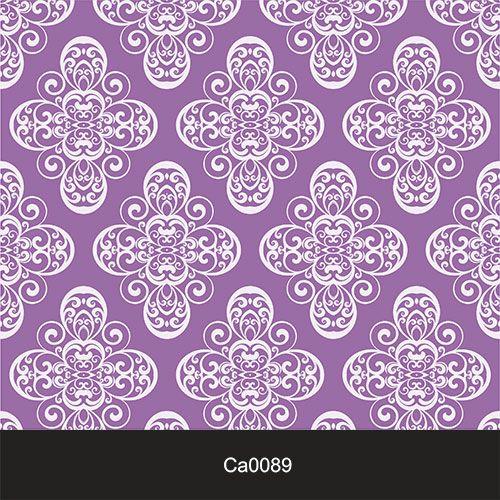Papel de Parede Lavável Clássico Arabesco Roxo CA0089  - Final Decor