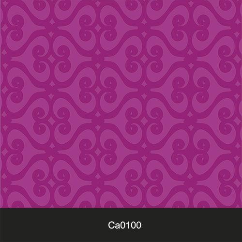 Papel de Parede Lavável Clássico Arabesco Roxo CA0100  - Final Decor