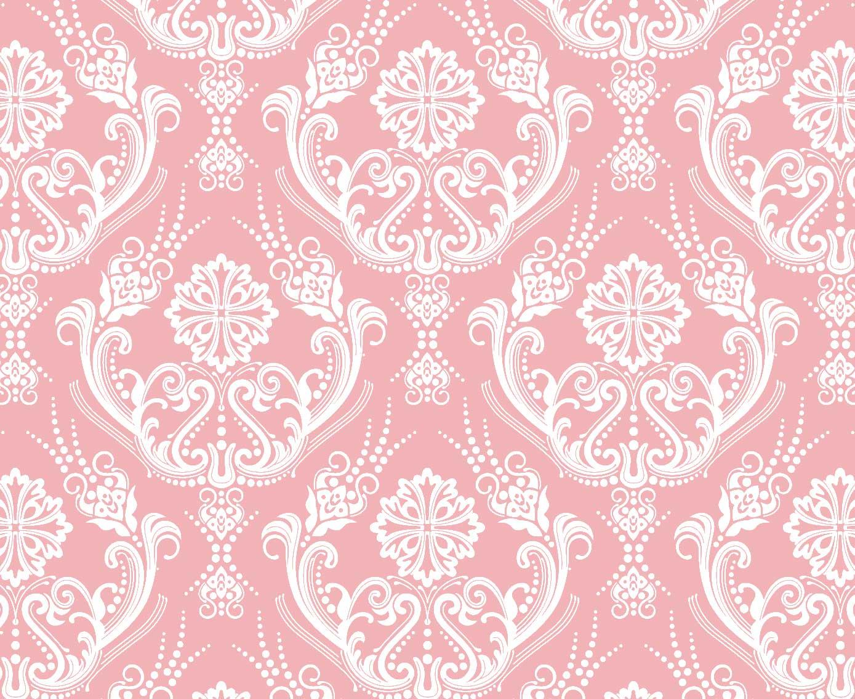 Papel de Parede Lavável Clássico Arabesco ca0103 rosinha  - Final Decor