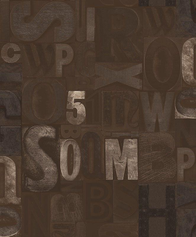 Papel de Parede Convencional Importado Mundi Loft 66083  - Final Decor