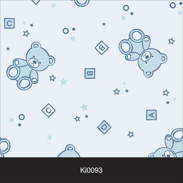 Papel de Parede Infantil Auto Adesivo Lavável 0093 Urso Boy  - Final Decor