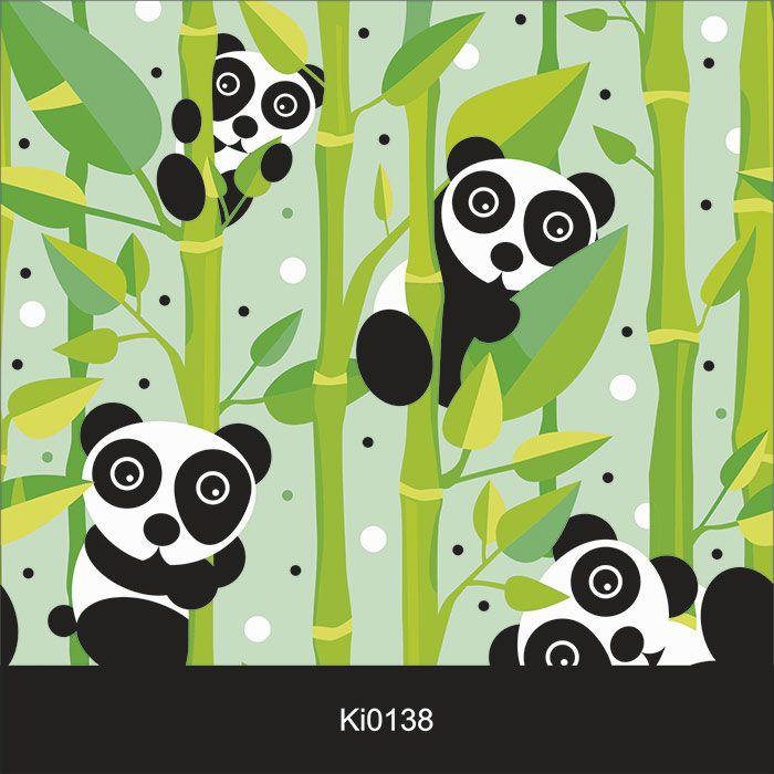 Papel de Parede Infantil Auto Adesivo Lavável 0138 Banda Bamboo  - Final Decor