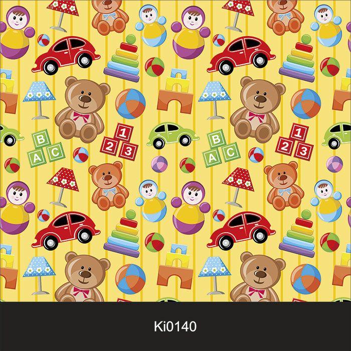 Papel de Parede Infantil Auto Adesivo Lavável Boy Car KI0140  - Final Decor