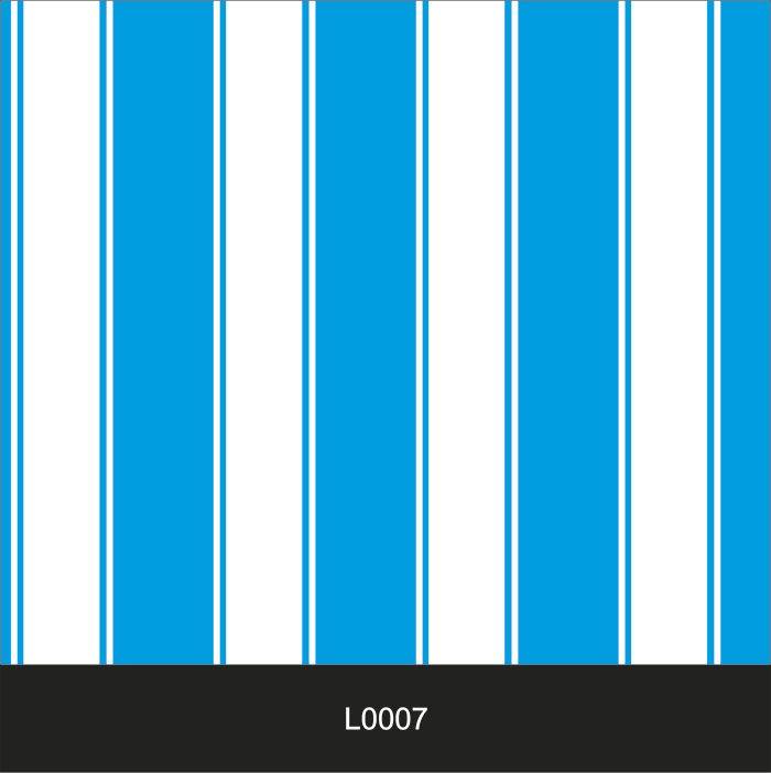 Papel de Parede Auto Adesivo Lavável  Listrado 0007 Azul Mar  - Final Decor
