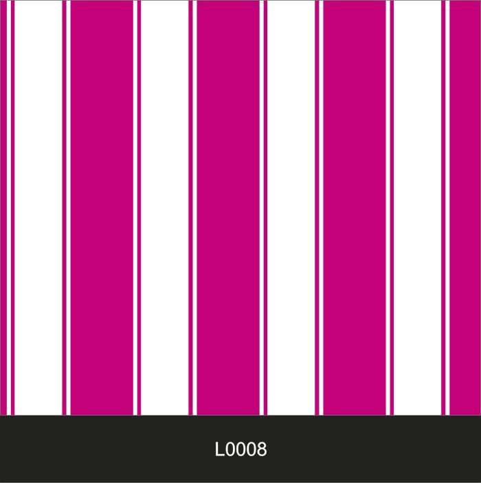 Papel de Parede Auto Adesivo Lavável  Listrado 0008 Rosa Magenta  - Final Decor