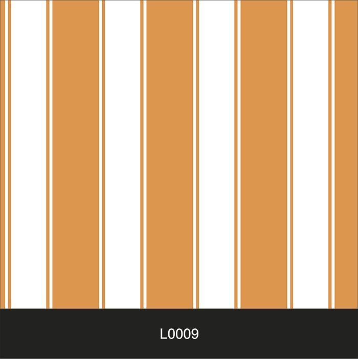 Papel de Parede Auto Adesivo Lavável  Listrado 0009 Salmão  - Final Decor