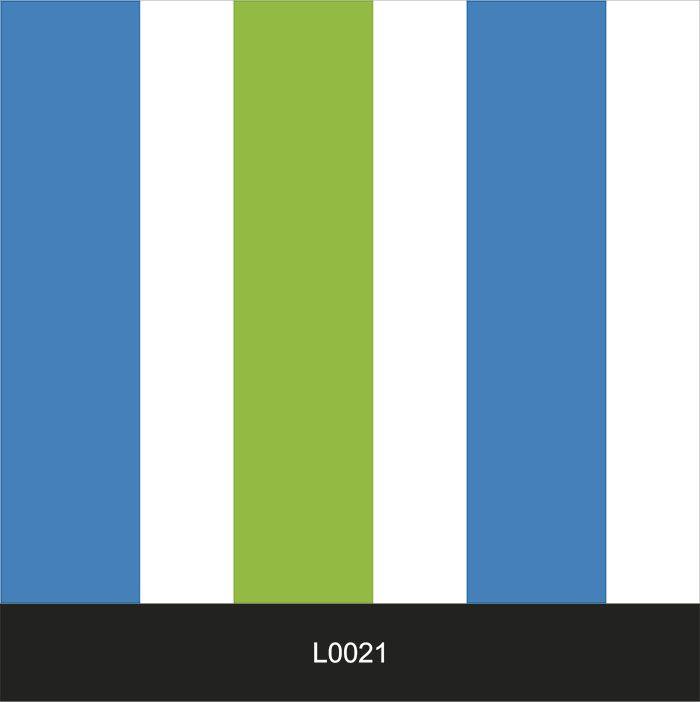 Papel de Parede Auto Adesivo Lavável  Listrado 0021 Verde com Azul  - Final Decor