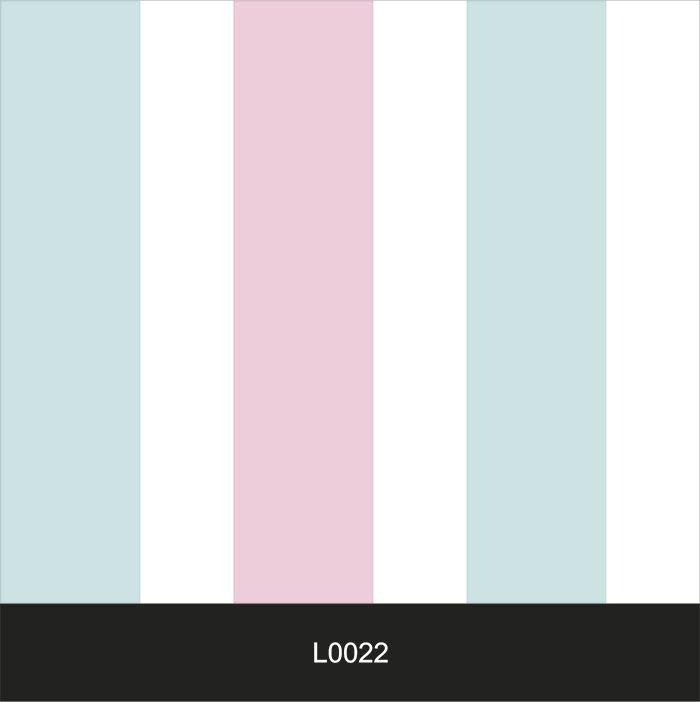 Papel de Parede Auto Adesivo Lavável  Listrado 0022 Rosa Claro com Azul Claro  - Final Decor