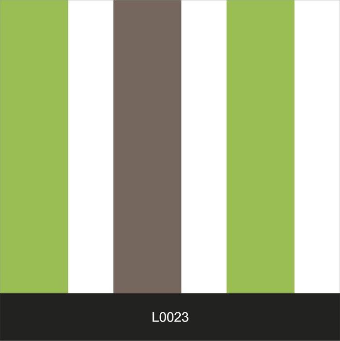 Papel de Parede Auto Adesivo Lavável  Listrado Verde com Cinza L0023   - Final Decor