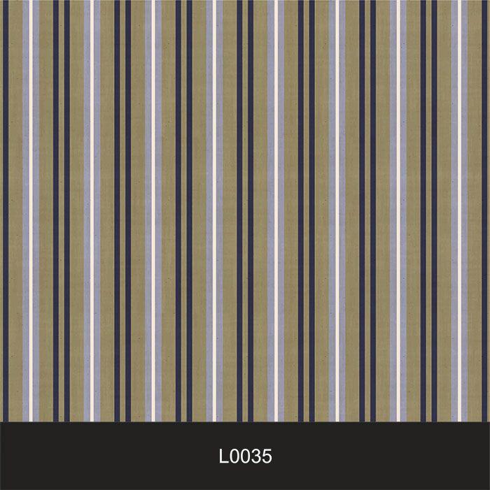 Papel de Parede Auto Adesivo Lavável  Listrado Vintage L0035  - Final Decor