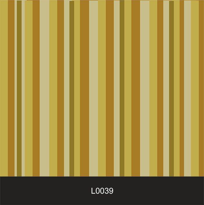 Papel de Parede Auto Adesivo Lavável  Listrado 0039 Mostarda  - Final Decor