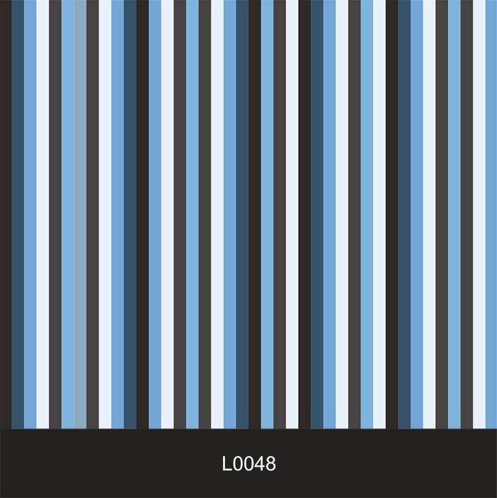 Papel de Parede Auto Adesivo Lavável  Listrado Azul L0048  - Final Decor