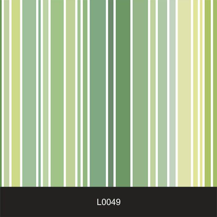 Papel de Parede Auto Adesivo Lavável  Listrado Verde L0049  - Final Decor