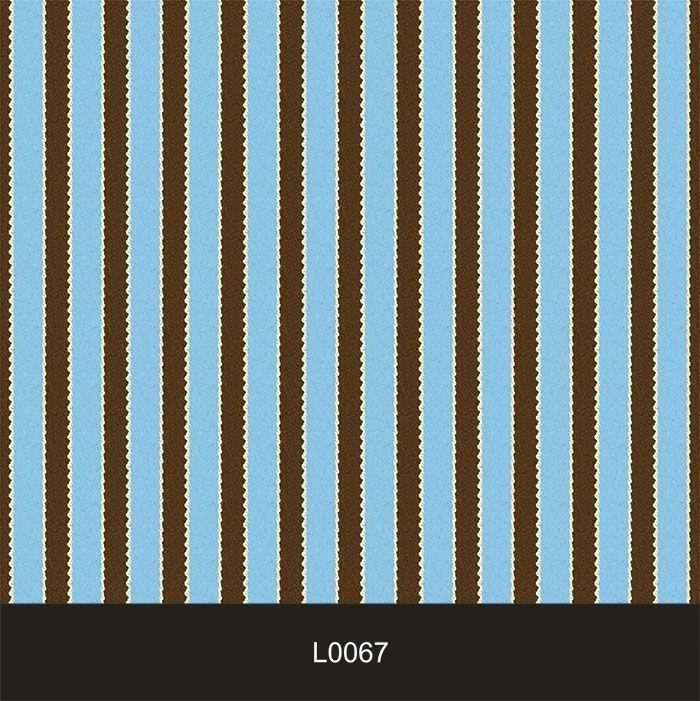 Papel de Parede Auto Adesivo Lavável  Listrado 0067 Azul Céu  - Final Decor