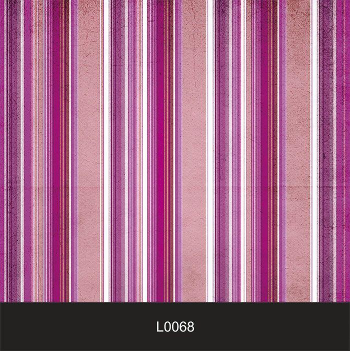 Papel de Parede Auto Adesivo Lavável  Listrado 0068 Rosa, Violet  - Final Decor