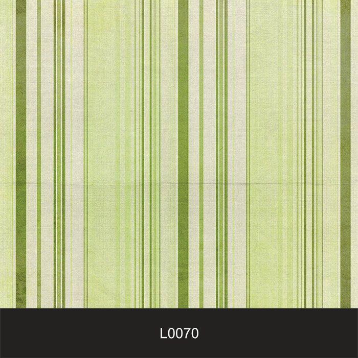Papel de Parede Auto Adesivo Lavável  Listrado 0070 Verde Limão Vintage  - Final Decor