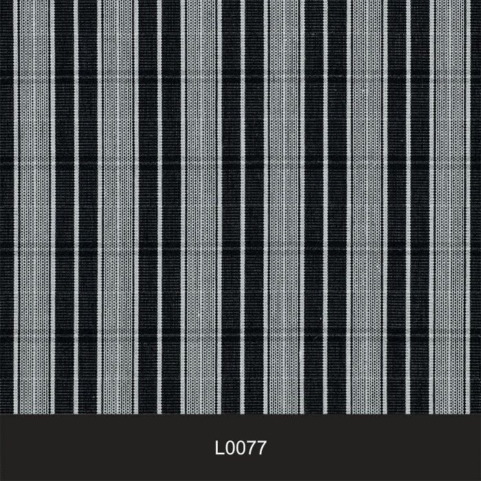 Papel de Parede Auto Adesivo Lavável  Listrado 0077 Preto  - Final Decor