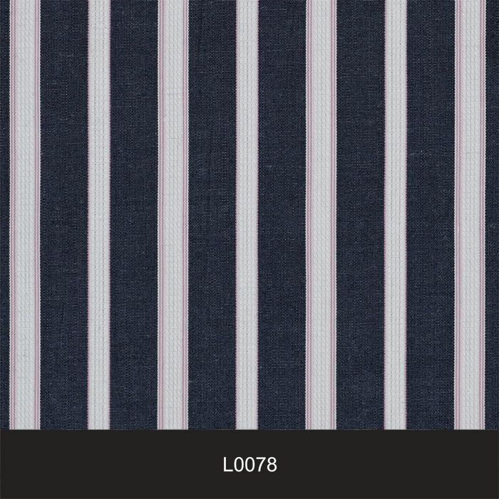 Papel de Parede Auto Adesivo Lavável  Listrado Azulado L0078  - Final Decor