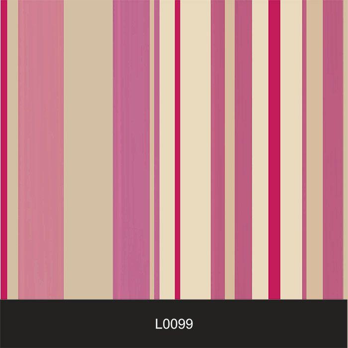 Papel de Parede Auto Adesivo Lavável  Listrado 0099 Rosas  - Final Decor