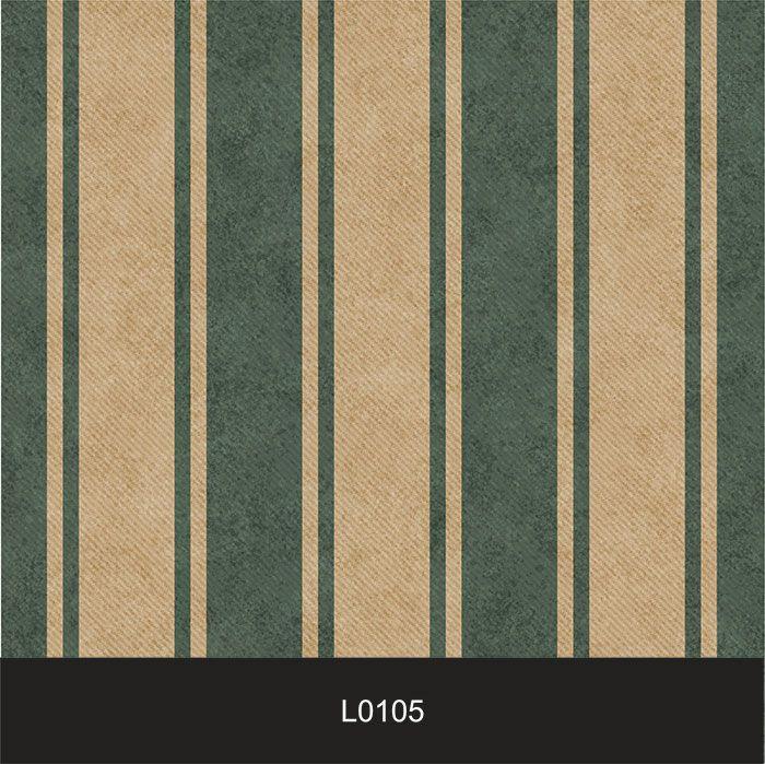 Papel de Parede Auto Adesivo Lavável  Listrado Verde Bandeira L0105  - Final Decor