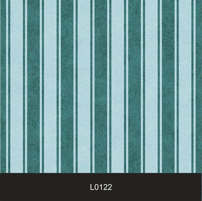 Papel de Parede Auto Adesivo Lavável  Listrado 0122 Verde Tiffany Vintage  - Final Decor