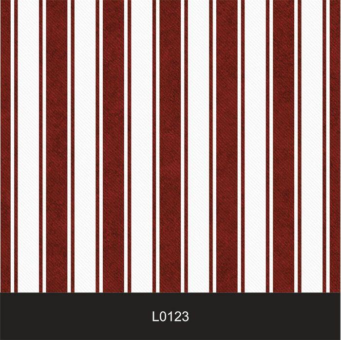 Papel de Parede Auto Adesivo Lavável  Listrado 0123 Bordo  - Final Decor