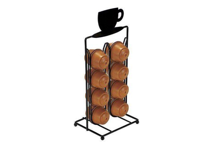 Porta Cápsulas Dolce Gusto Para 16 Cápsulas Cafés - Em Aço - Art house  - Final Decor