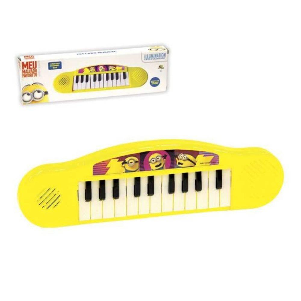Teclado Piano Infantil Musical Meu Malvado Favorito Minion  - Final Decor