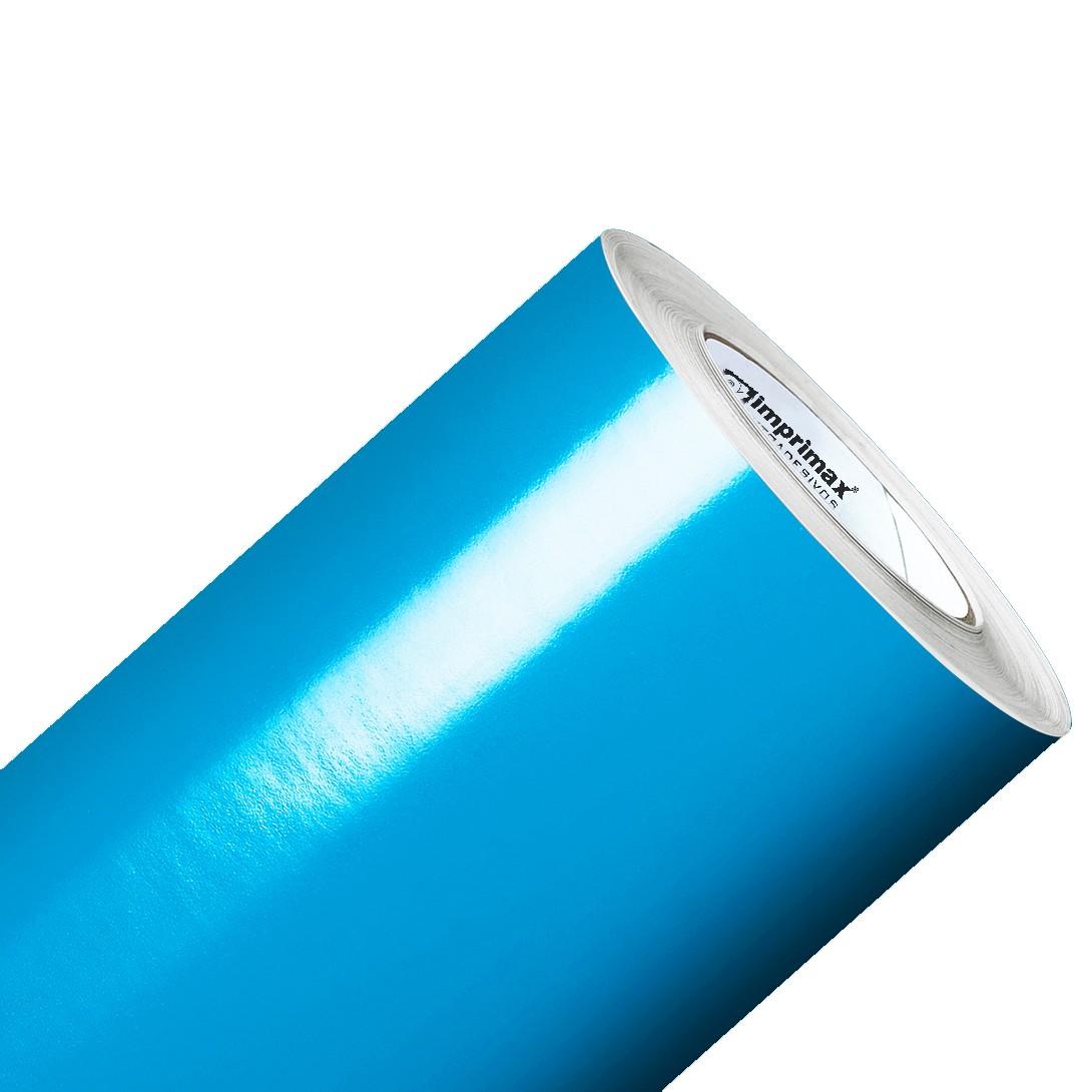 Vinil Adesivo Azul Céu 0,50 cm largura x 1,0 Metro Comprimento  - Final Decor