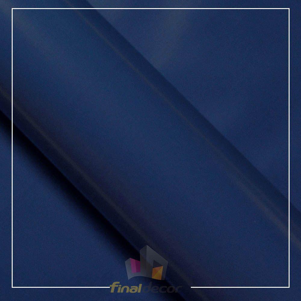 Vinil Adesivo Azul Marinho 0,50 cm larg x 1,0 Mt Comprimento  - Final Decor