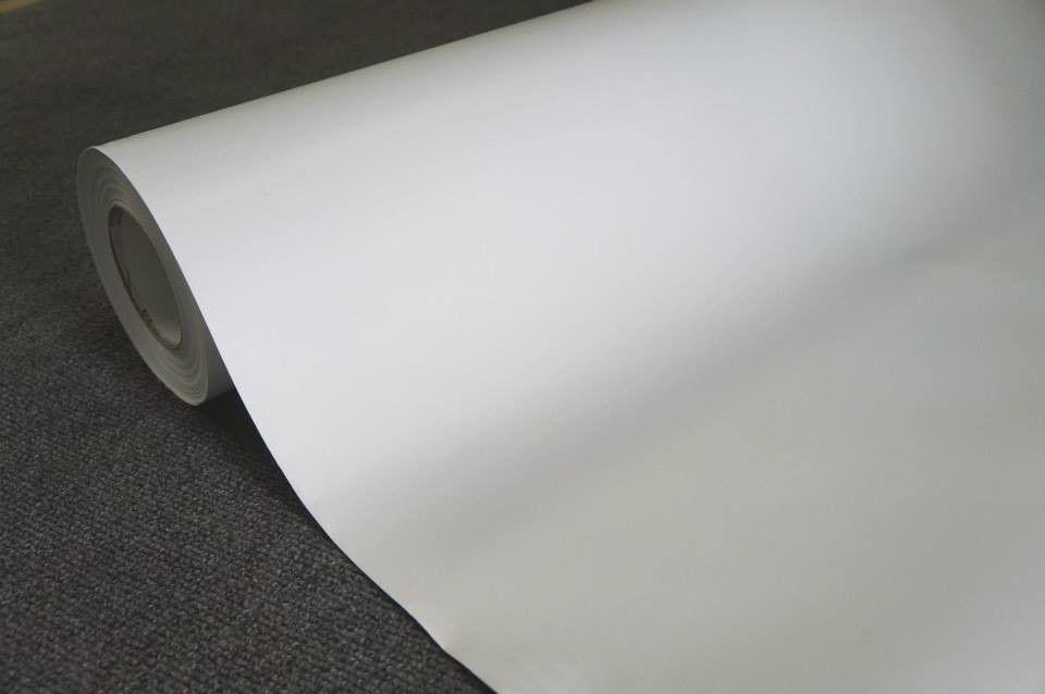Vinil Adesivo Branco Fosco 0,50 cm largura x 1,0 metro de comprimento  - Final Decor
