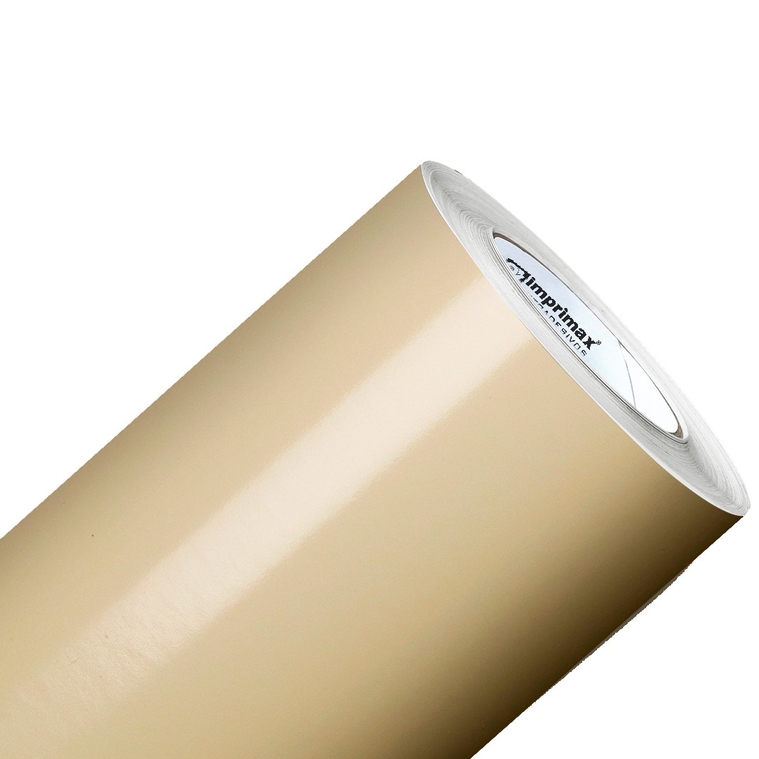 Vinil Adesivo Bege 0,50 cm largura x 1,0 Metro de Comprimento  - Final Decor