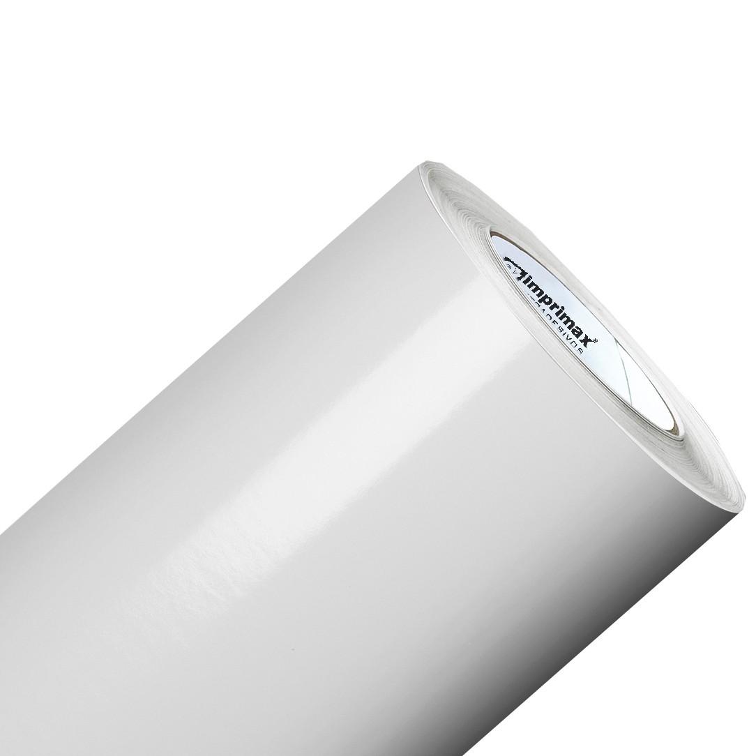 Vinil Adesivo Branco Semi Brilho 0,50 cm largura x 1,0 metro de comprimento.  - Final Decor
