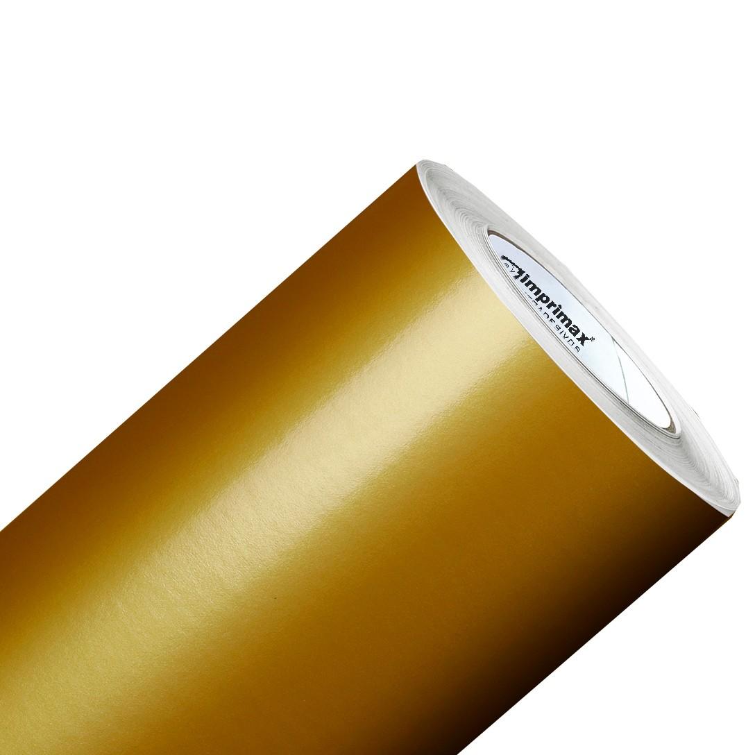 Vinil Adesivo Dourado 0,50 cm largura x 1,0 metro de comprimento.  - Final Decor