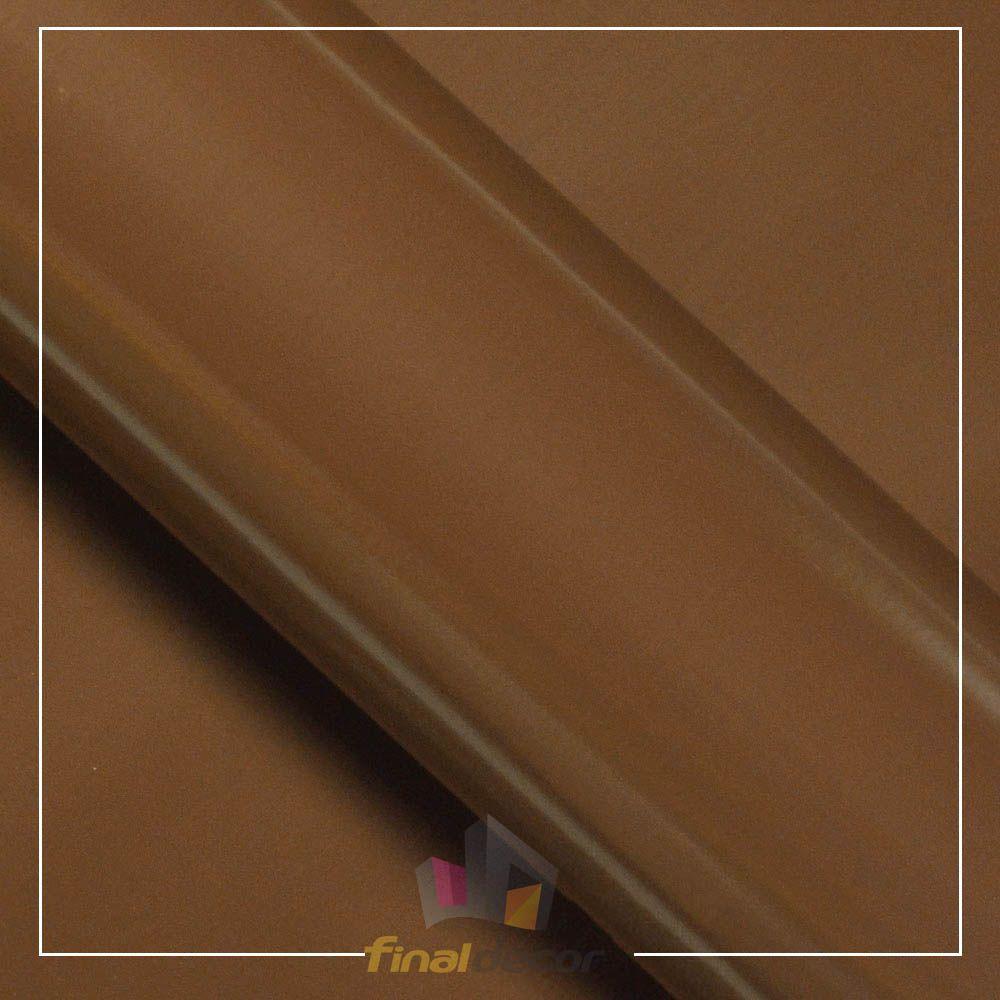 Vinil Adesivo Marrom 0,50 cm largura x 1,0 metro de comprimento.  - Final Decor