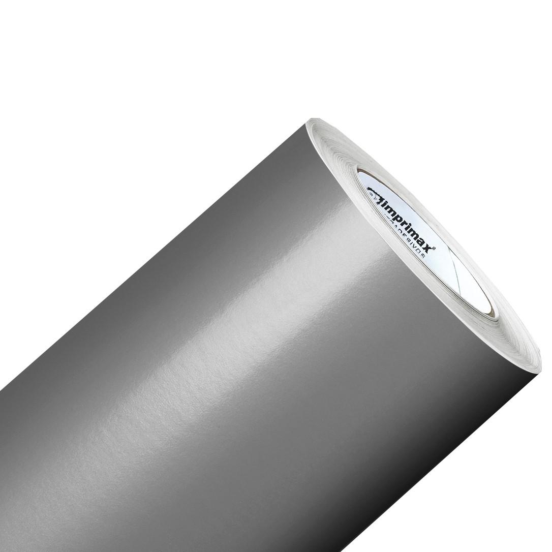 Vinil Adesivo Prata 0,50 cm largura x 1,0 metro de comprimento.  - Final Decor