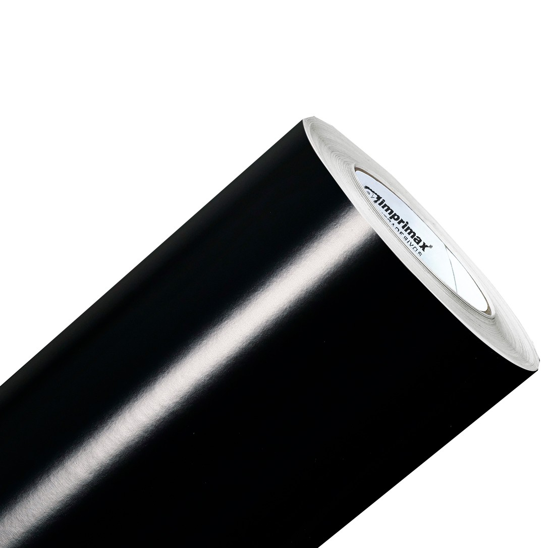 Vinil Adesivo Preto Brilho 0,50 cm largura x 1,0 metro de comprimento.  - Final Decor