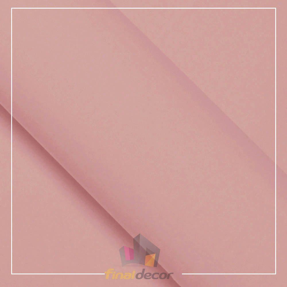 Vinil Adesivo Rosa Claro 0,50 cm largura x 1,0 metro de comprimento.  - Final Decor