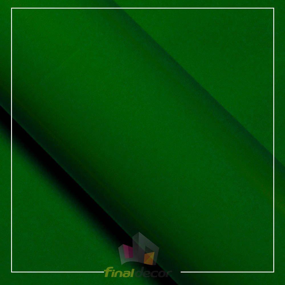 Vinil Adesivo Verde Amazonas 0,50 cm largura x 1,0 metro de comprimento.  - Final Decor