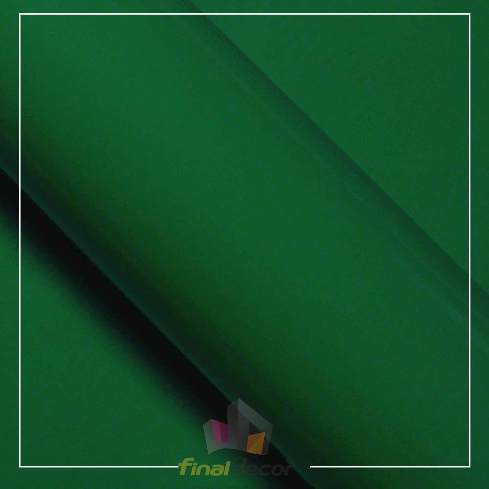 Vinil Adesivo Verde Bandeira 0,50 cm largura x 1,0 metro de comprimento.  - Final Decor
