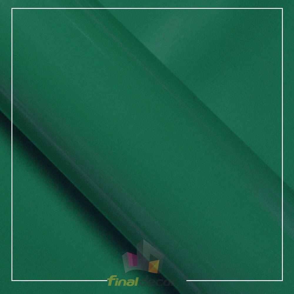 Vinil Adesivo Verde Turquesa 0,50 cm largura x 1,0 metro de comprimento.  - Final Decor
