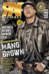 Rap Nacional #6 - Capa: Mano Brown