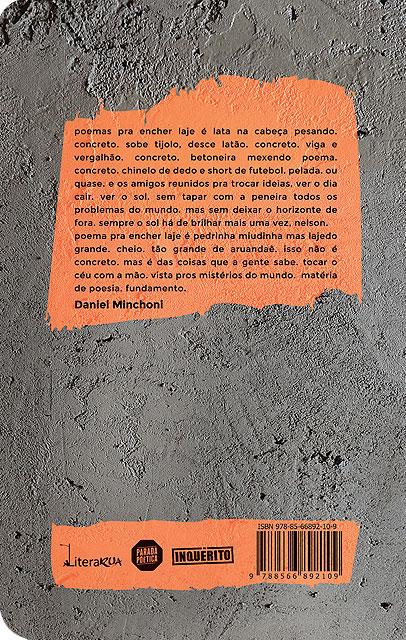 Poesia Pra Encher A Laje (Esgotado)  - LiteraRUA