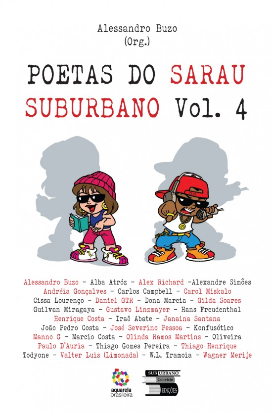 Poetas Do Sarau Suburbano Vol. 4   - LiteraRUA